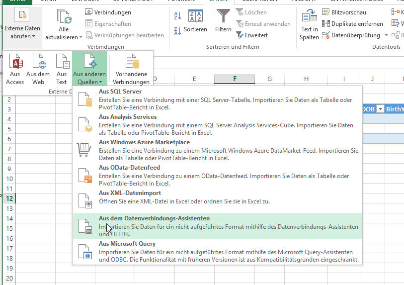 Importing SQLite data into Excel 2013 | MedStat Stutter